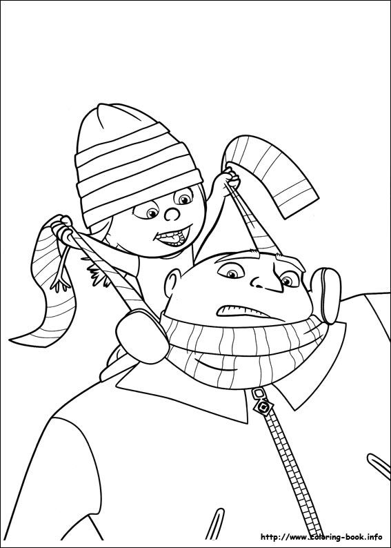 Pin by Cindy Wulff on Alivia Pinterest - new minions coloring pages images