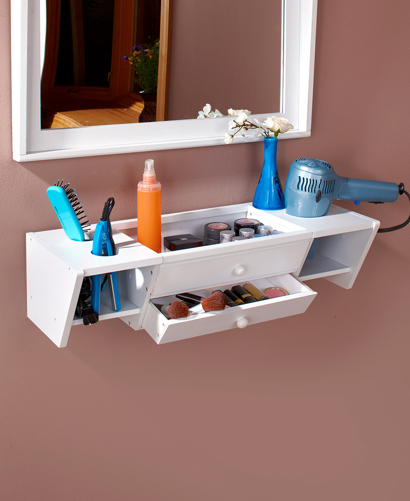 Wall Mounted Bathroom Vanity Shelves Vanity Shelves Bathroom Vanity Organization Shelves