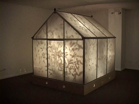 Ted Victoria 1999 Home Art Little House Installation
