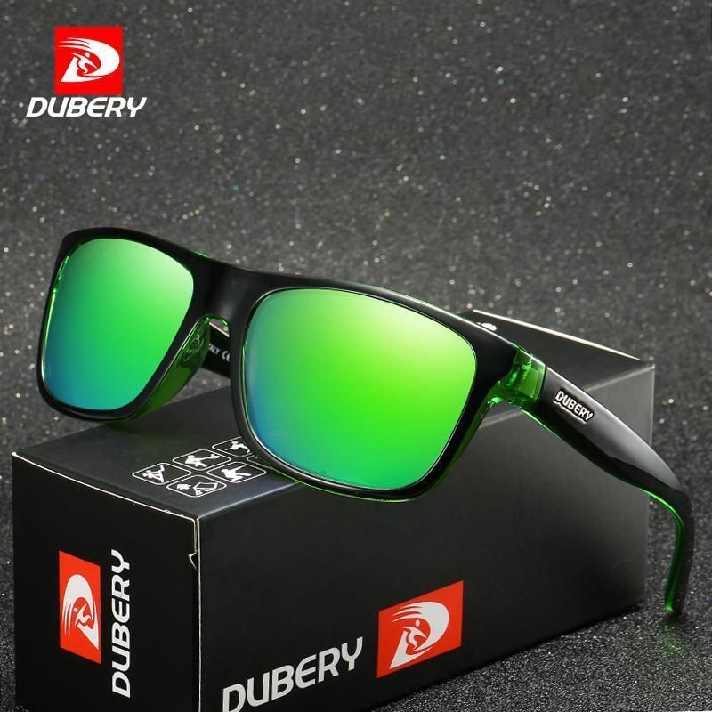 5ed9f1311af DUBERY Brand Design Polarized HD Sunglasses Men Driving Shades Male Retro  Sun Gl