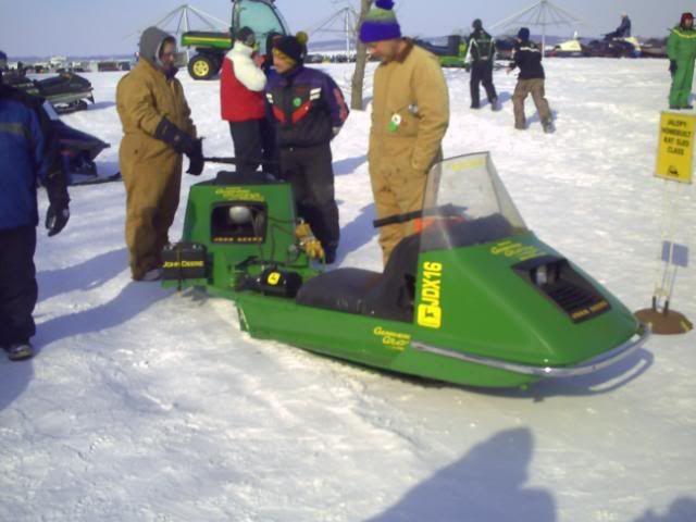 John Deere sleds