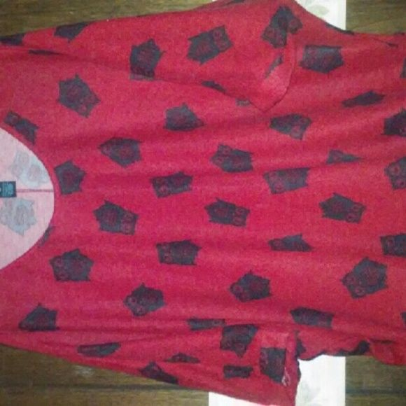 Red owl shirt New and cute Rue 21 Tops