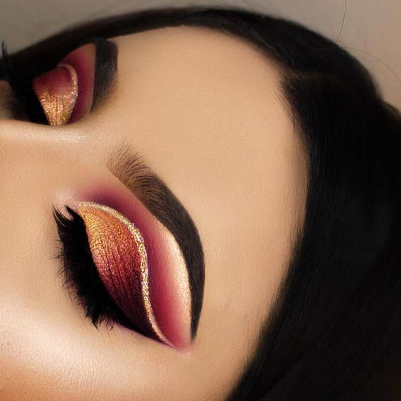 Huda beauty obsession eyeshadow palette red copper and gold #makeup #makeuptutor..., #Beauty...