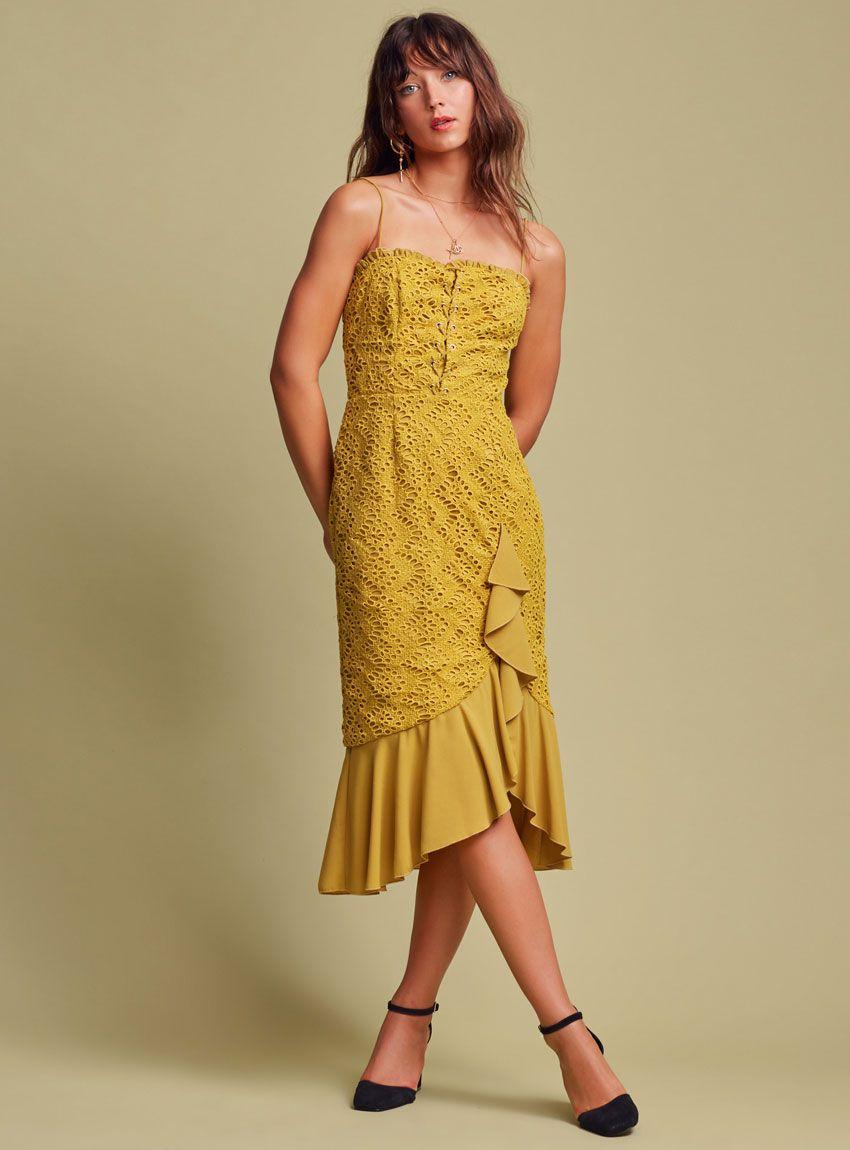 Buy Sunseeker Midi Dress Finders Keepers The Birdcage Boutique Buy Midi Dress Dresses Midi Dress