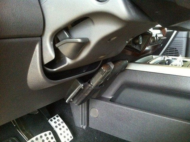 All Of Our Leather Holsters Mount In Your Car Home Safe Bag