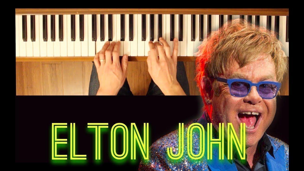 I M Still Standing Elton John Easy Piano Tutorial Piano