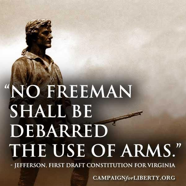 2Nd Amendment Quotes Endearing Thomas Jefferson Quote On 2Nd Amendment Firearm Inspirational
