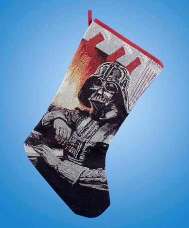 Another great find on #zulily! Darth Vader Tapestry Stocking #zulilyfinds