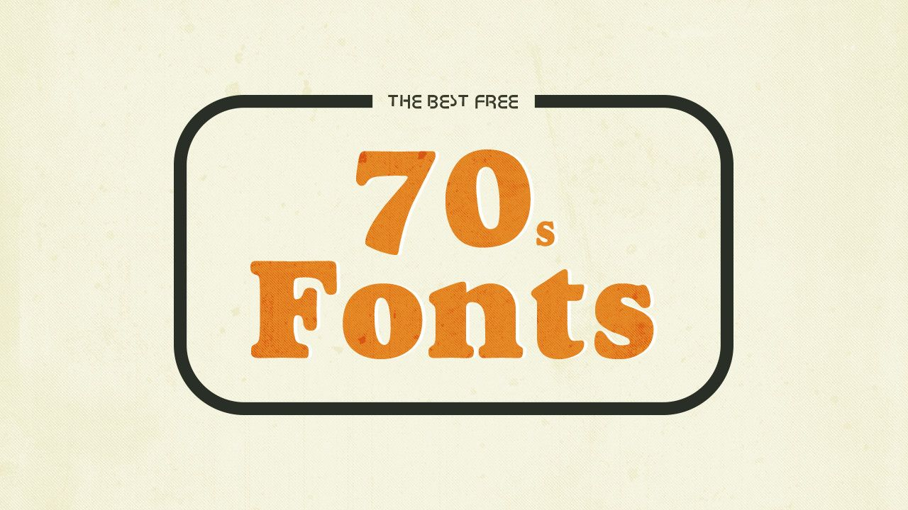 The 12 Best Free 70s Fonts Hipsthetic Free 70s Fonts Retro Typography Retro Logo Design