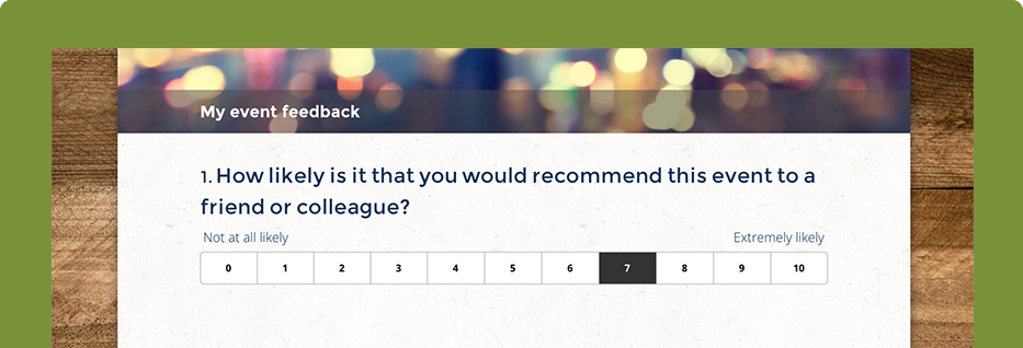 Event Surveys Questions  Templates  Surveymonkey  Event Tips