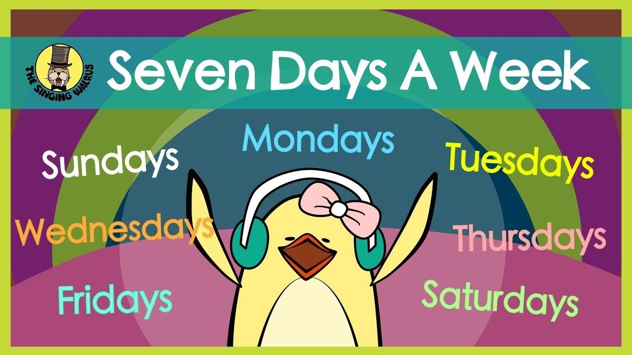 Get The Mp3 On Apple Music Amazon Or Google Play Https Music Apple Com Ca Album Seven Days A Week Single 1461 Good Bye Songs Fun Songs For Kids Kids Songs