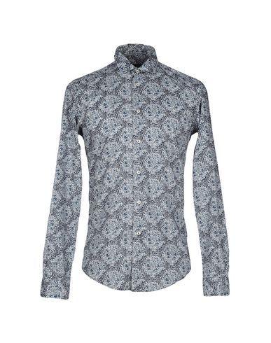 BRIAN DALES Men's Shirt Black 15 inches-neck