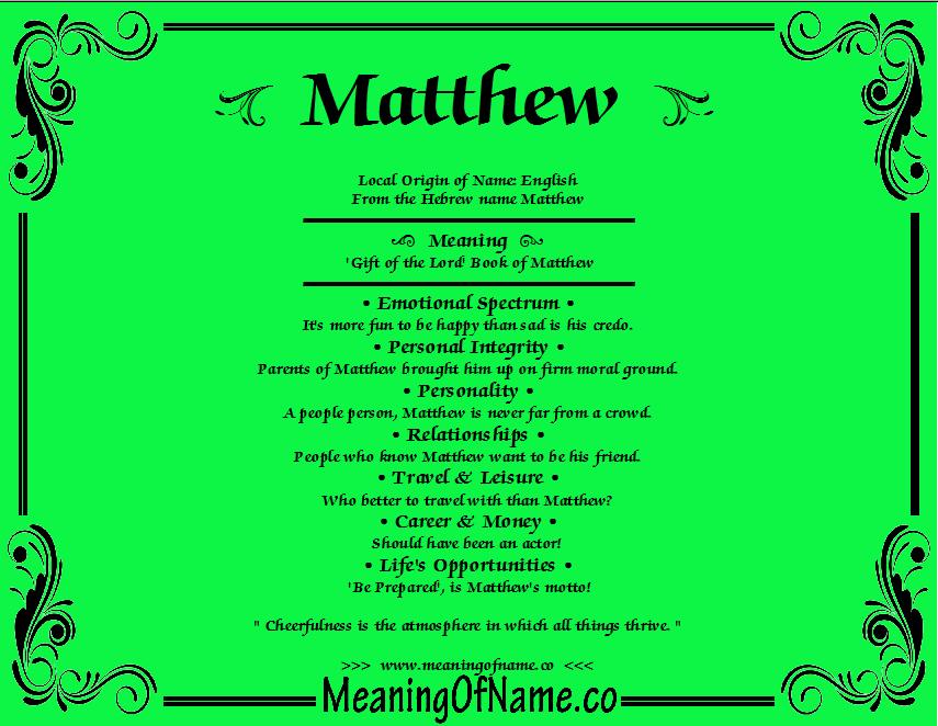 Meaning of name matthew maternidad pinterest meaning of name matthew negle Gallery