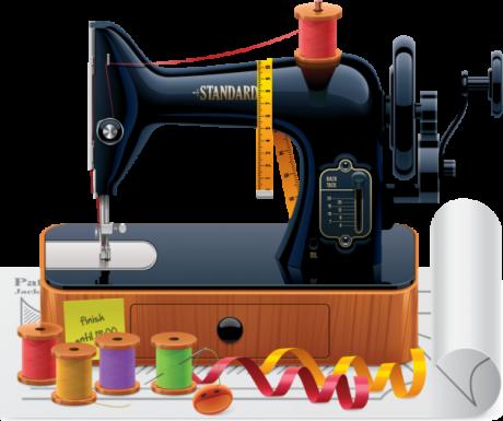 ШИТЬЕКРОЙ Швейные принадлежности, Швейные машины и