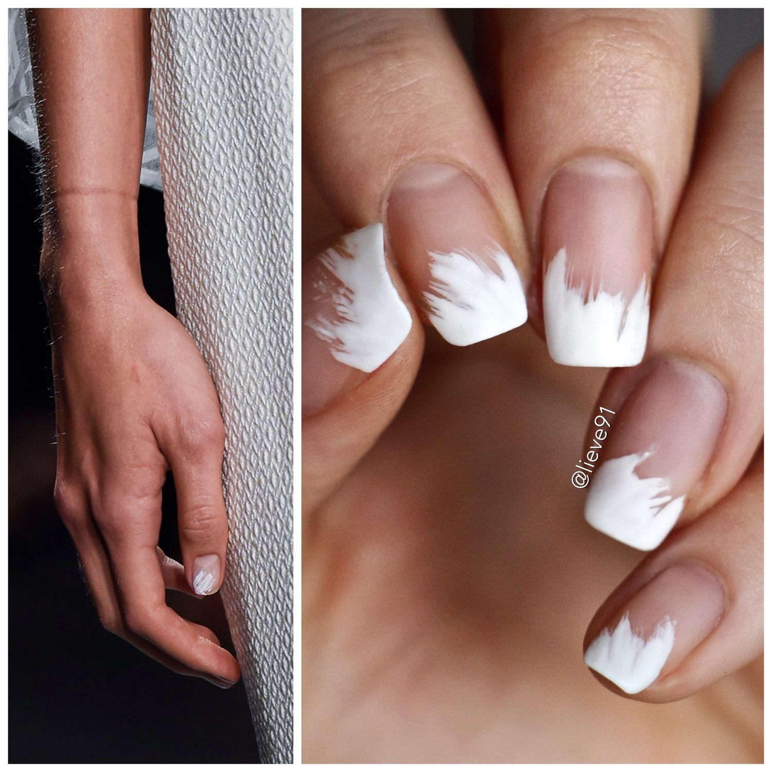 Fashion week day 7 fall 2016 runway nail art lieve91 - Div position right ...