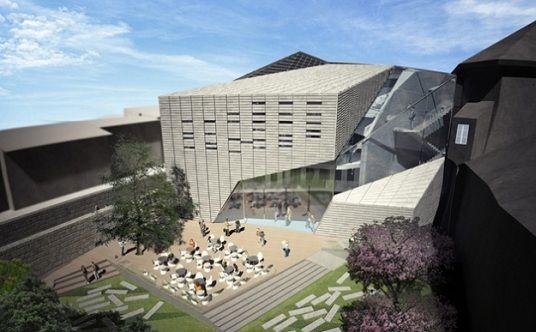 Bibliotecas publicas arquitectura buscar con google for Planos de bibliotecas