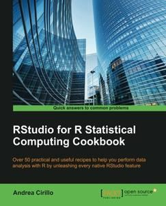 RStudio for R Statistical Computing Cookbook | R | Cookbook pdf