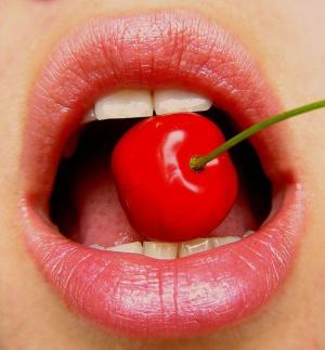 lips with cherry (с изображениями) | Нарисовать губы ...