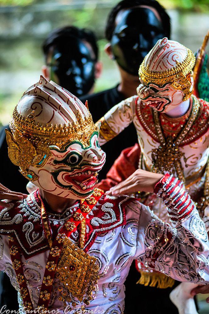 Puppet show, Khlong Bang Luang Artist House, Thailand  thailand  Pinterest