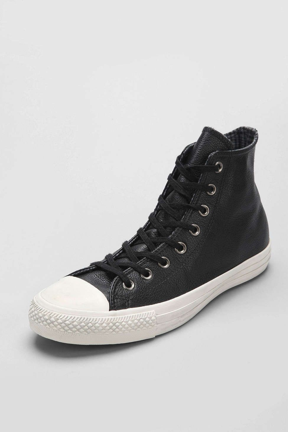 1c3087b8a53036 Converse X Uo Chuck Taylor All Star Leather High-Top Men S Sneaker in Black  for Men