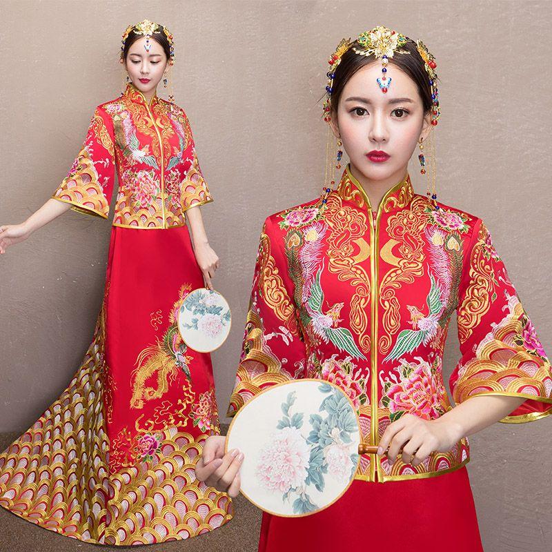 Chinese Traditional Style Wedding Dress 07 | Shopping Wedding ...