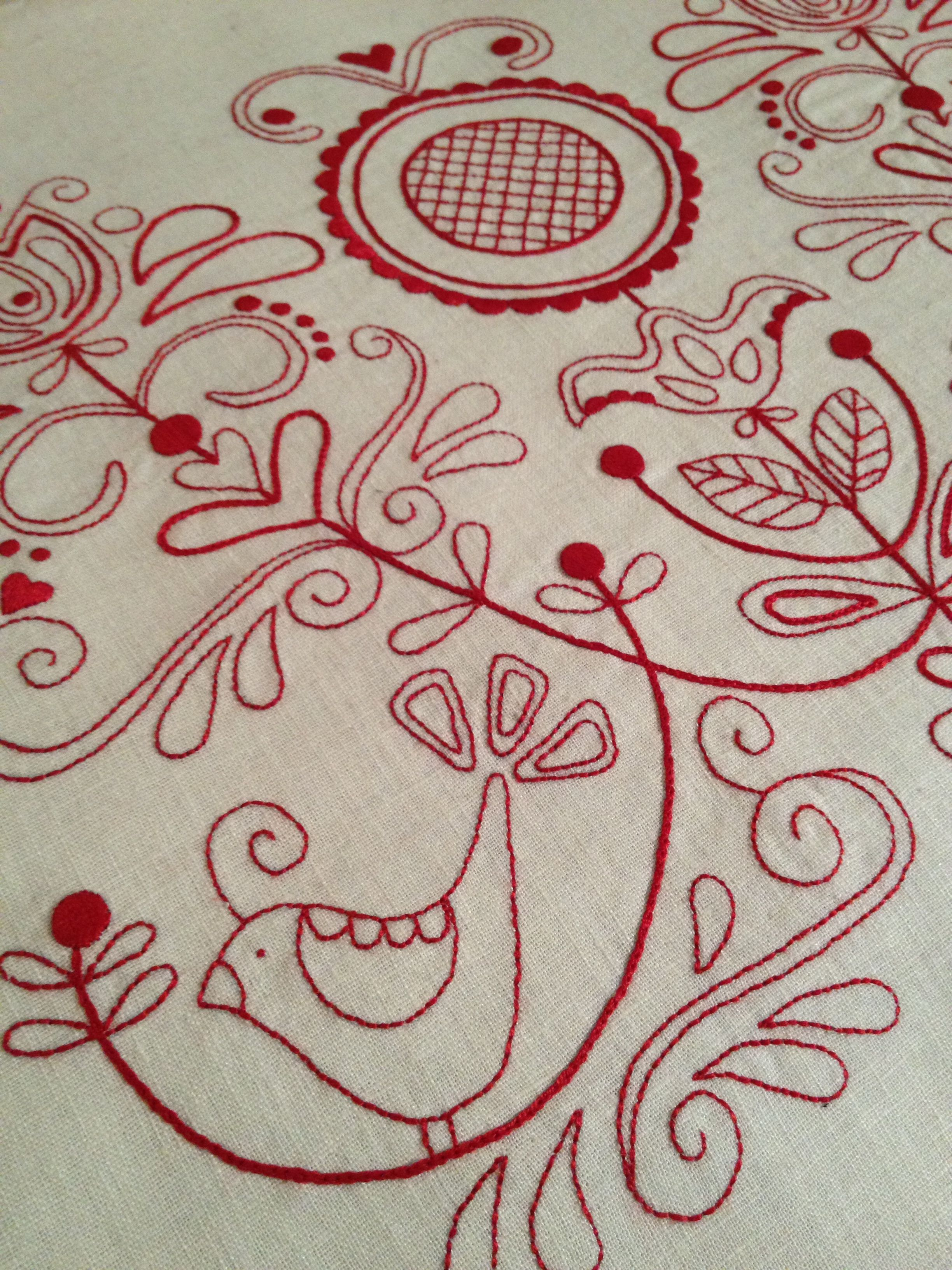 Rosalie Quinlan Designs Scandinavian Embroidery Embroidery Patterns Redwork Embroidery