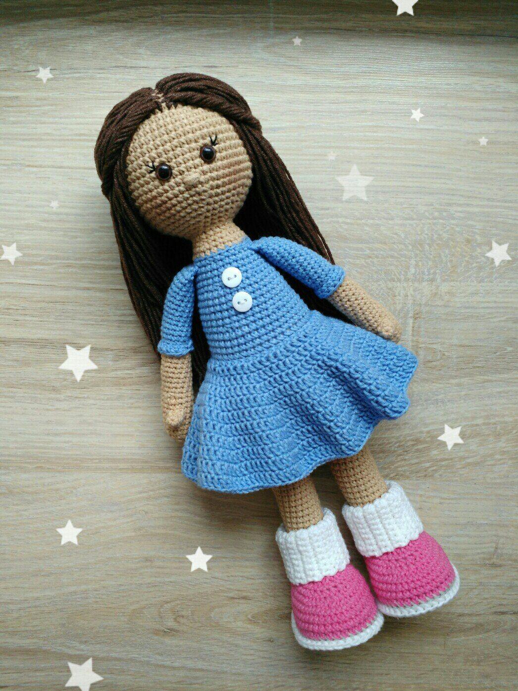 Molly doll crochet pattern #crochetamigurumifreepatterns