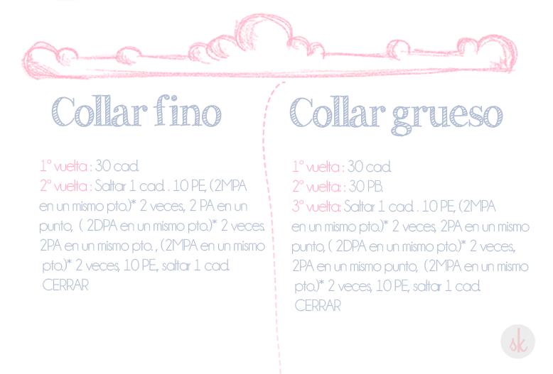 Patrón de Collar de Ganchillo XXL | Ganchillo | Pinterest | Crochet ...
