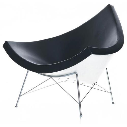 Buy Designer Classic George Nelson Coconut Lounge Chair Chair From Replica  Furniture Online, Brisbane.