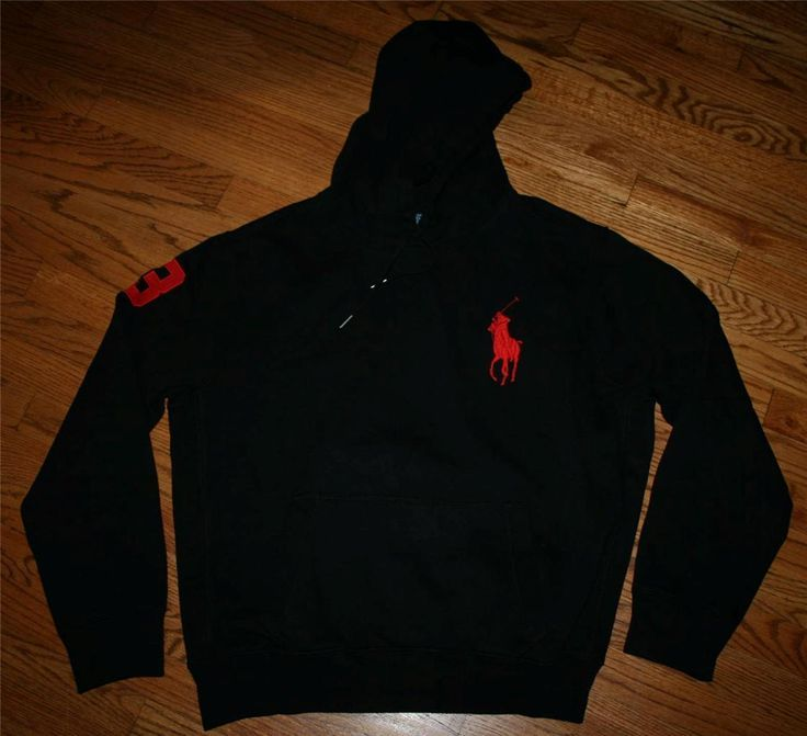 All Black Polo Hoodie