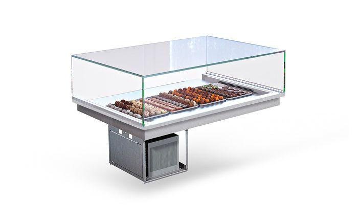 Refrigerated pastry exhibition display case - VIESTE - Enofrigo ...