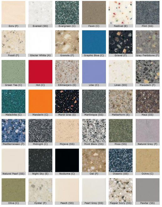 Corian - Google Search  I know granite is THE surface but I
