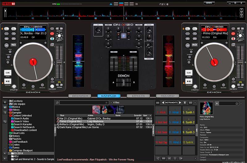 Skin VirtualDJ 7-8 DENON DN-S1200 | Harry styles | Dj pro, Mixer