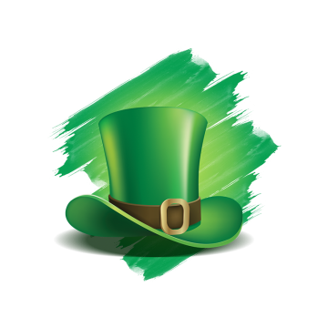 St Patricks Day With Hat Green Costume Hat St Patricks Day Png Transparent Clipart Image And Psd File For Free Download St Patricks Day Clipart Clip Art St Patricks Day
