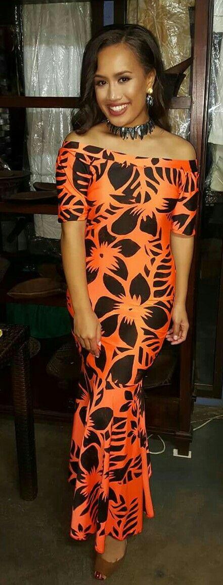 Latest Puletasi Samoan Styles