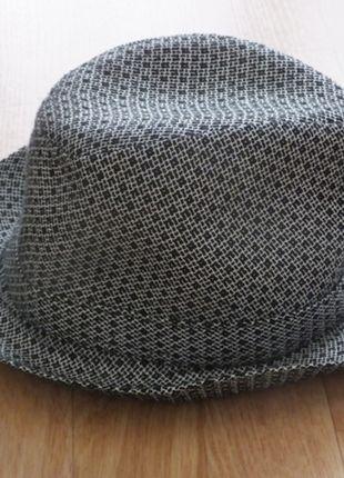 Šedo černý dámský klobouk  79885ef546