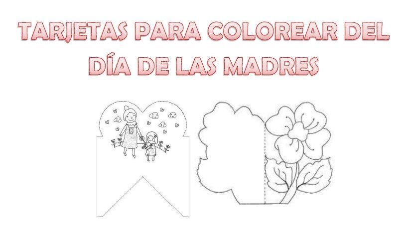 Bonitas tarjetas para colorear del día de las madres - http ...