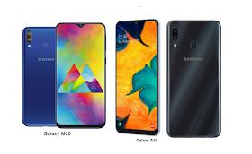 Samsung Galaxy A30 Vs Samsung Galaxy M20 Specs Comparisons Samsung Galaxy Galaxy Samsung