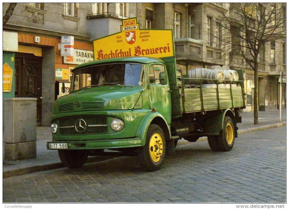 camion mercedes benz 322 ca 1963 cm 11 x 16 n. Black Bedroom Furniture Sets. Home Design Ideas