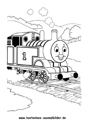 Ausmalbild Thomas Die Lokomotive Thomas Die Kleine Lokomotive Ausmalbilder Herbst Ausmalvorlagen