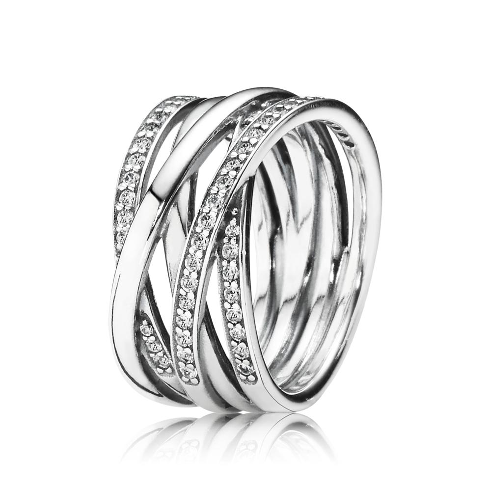 Entwining Silver Rings | PANDORA eSTORE