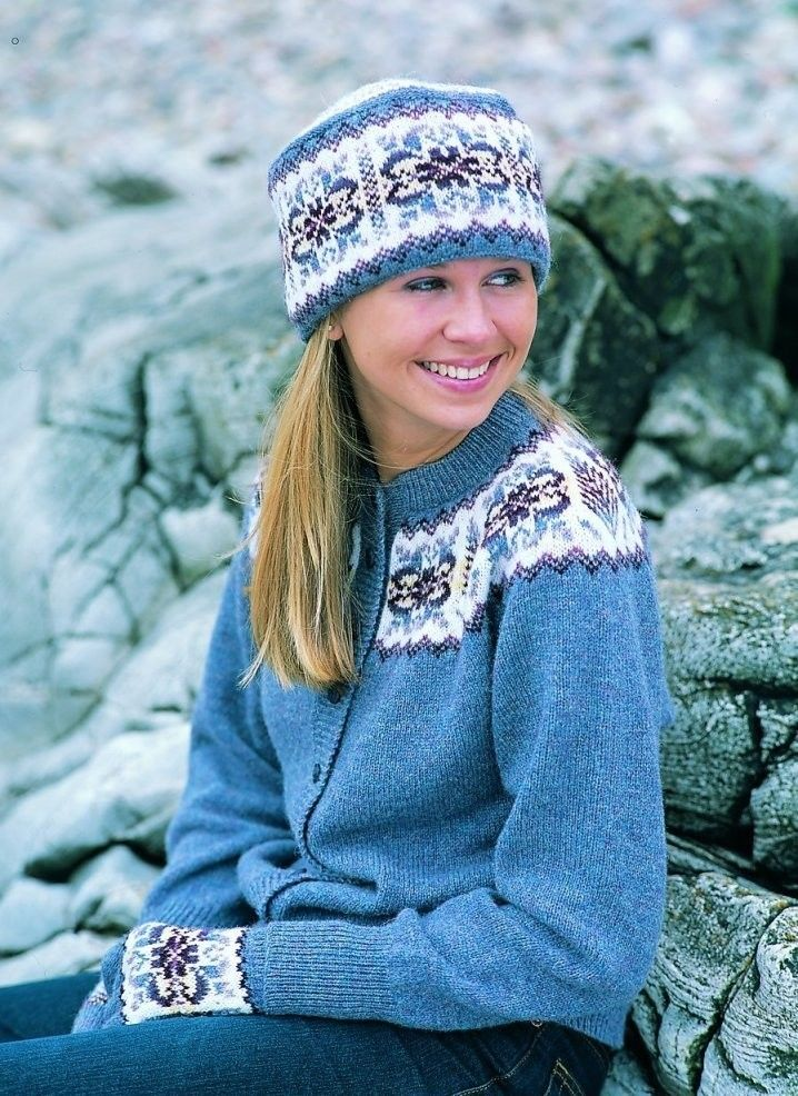 Shetland Collection - Fair Isle Yokes - Handknitted | Things to ...