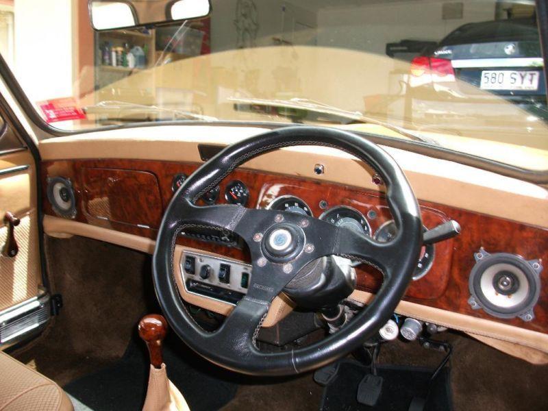 Leyland mini 1275 LS nugget gold 1978 queensland  Mini 1275 LS