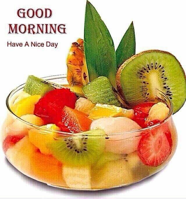 Good Morning Quotes With Fruits: Fruit Salad, Salad, Fruit