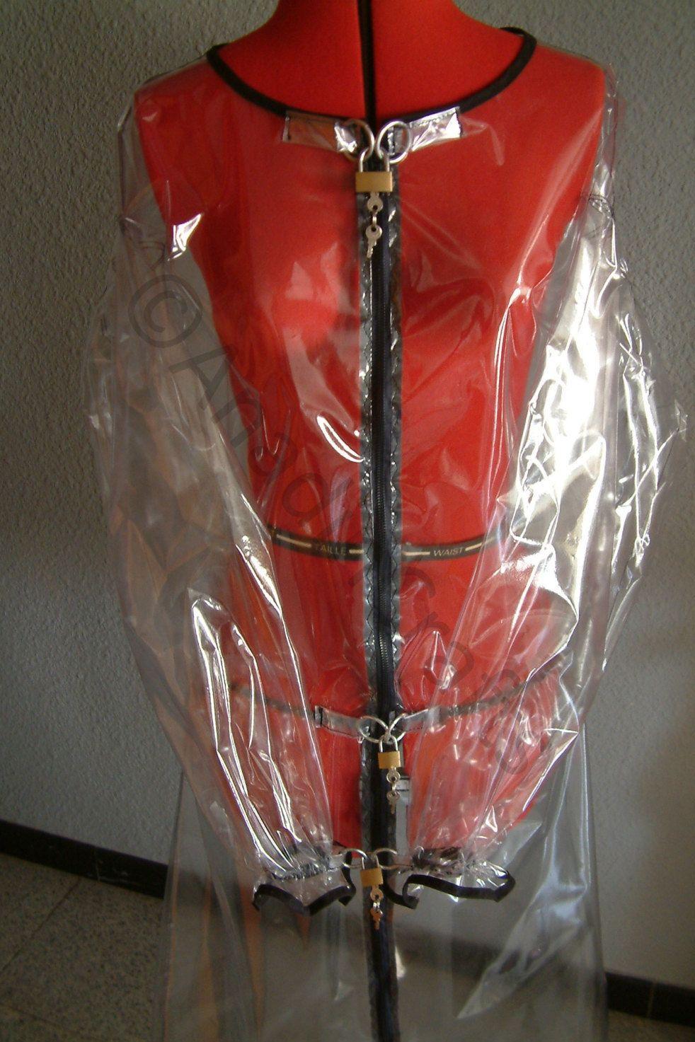 TRANSPARENT Lockable PVC Sissy Dress ***MATURE*** AasTS
