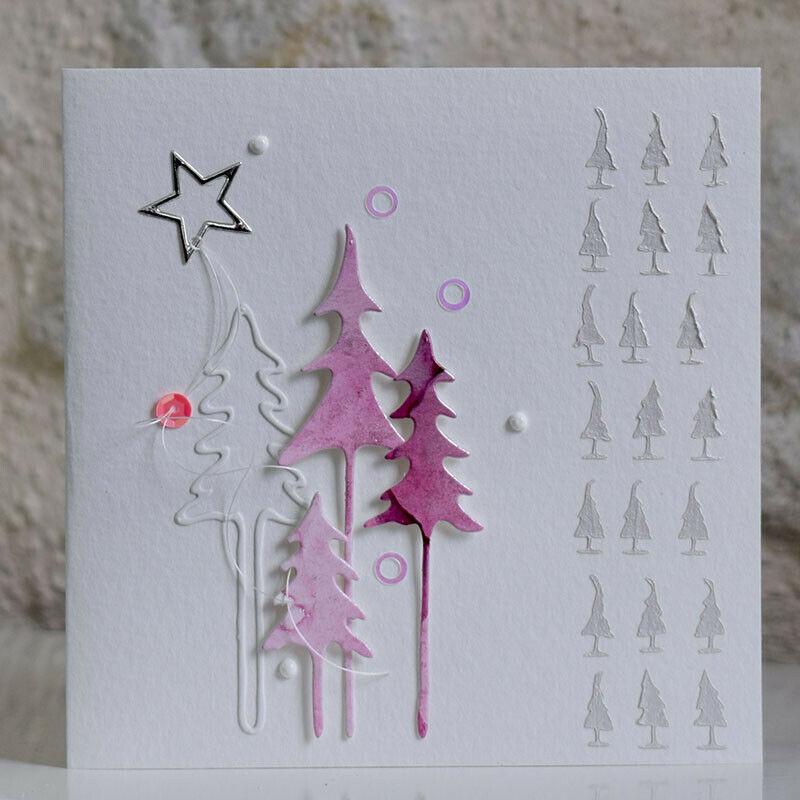 Touch Pen Selber Machen : pin von becky lee auf christmas cards with trees ~ Watch28wear.com Haus und Dekorationen