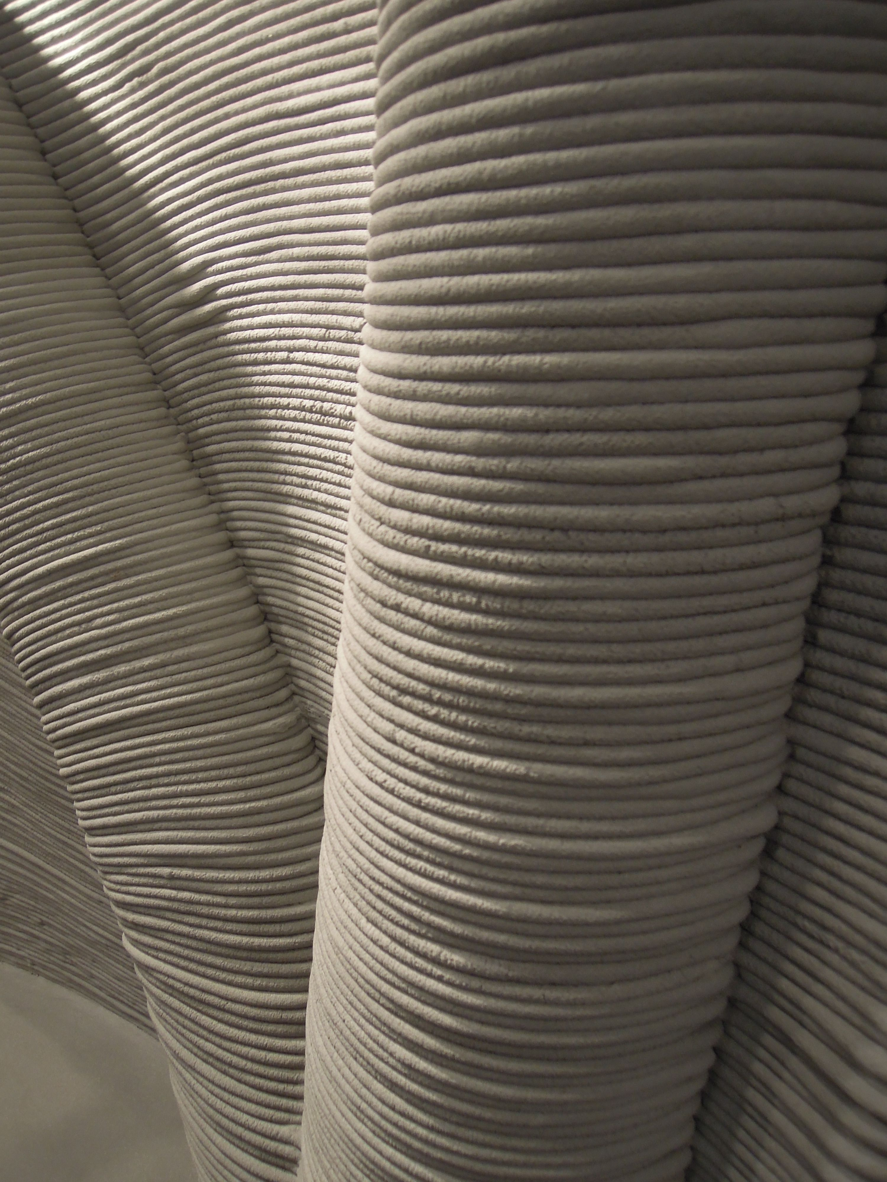 3d Printed Cement Wall By Xtreeeeu At Print 2015 In Lyon Circuit Bent Modified Toy Festival Ponoko