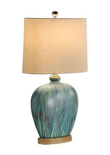 Bring The Beach Indoors With This Glaze Oval Lamp The Color