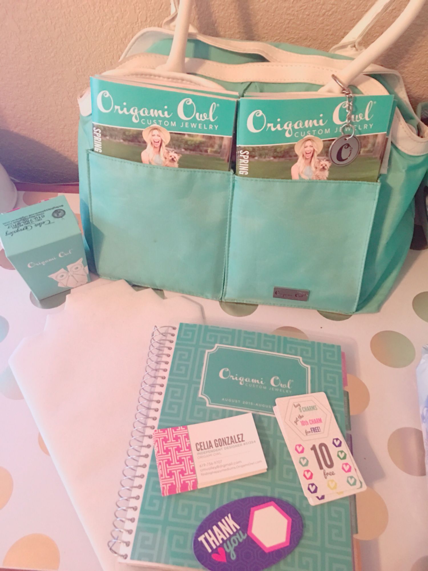 origami owl car kit or catalog party pack your toms business
