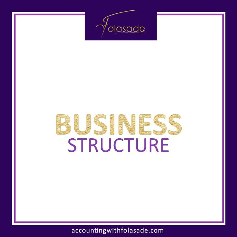 Financial strategies differ amongst business structures a